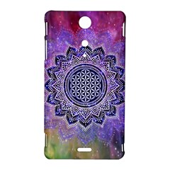 Flower Of Life Indian Ornaments Mandala Universe Sony Xperia TX