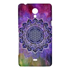 Flower Of Life Indian Ornaments Mandala Universe Sony Xperia T