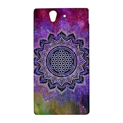 Flower Of Life Indian Ornaments Mandala Universe Sony Xperia Z