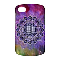 Flower Of Life Indian Ornaments Mandala Universe BlackBerry Q10