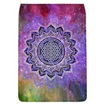 Flower Of Life Indian Ornaments Mandala Universe Flap Covers (S)  Front