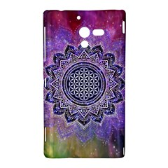 Flower Of Life Indian Ornaments Mandala Universe Sony Xperia ZL (L35H)