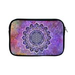 Flower Of Life Indian Ornaments Mandala Universe Apple iPad Mini Zipper Cases Front