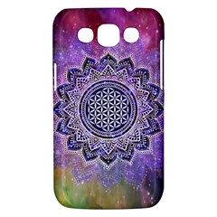 Flower Of Life Indian Ornaments Mandala Universe Samsung Galaxy Win I8550 Hardshell Case