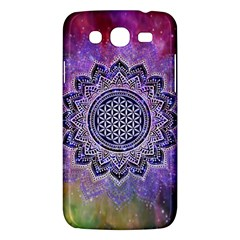Flower Of Life Indian Ornaments Mandala Universe Samsung Galaxy Mega 5.8 I9152 Hardshell Case