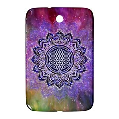 Flower Of Life Indian Ornaments Mandala Universe Samsung Galaxy Note 8.0 N5100 Hardshell Case