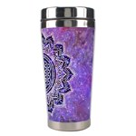 Flower Of Life Indian Ornaments Mandala Universe Stainless Steel Travel Tumblers Right