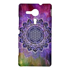 Flower Of Life Indian Ornaments Mandala Universe Sony Xperia SP