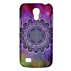 Flower Of Life Indian Ornaments Mandala Universe Galaxy S4 Mini