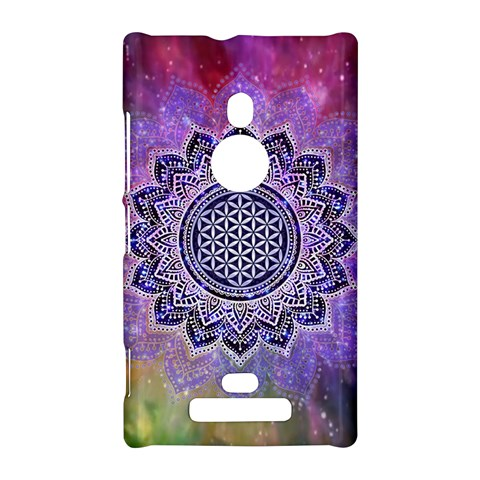 Flower Of Life Indian Ornaments Mandala Universe Nokia Lumia 925