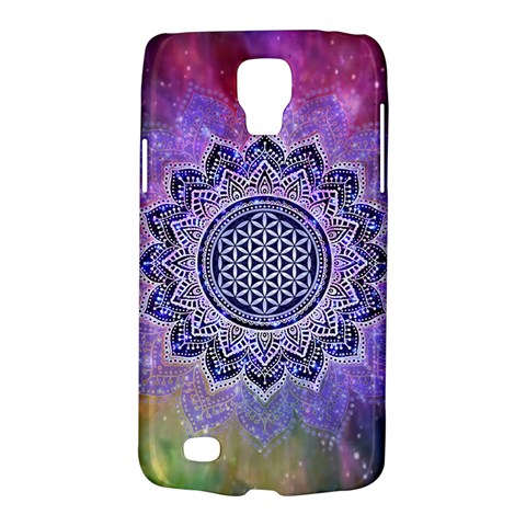 Flower Of Life Indian Ornaments Mandala Universe Galaxy S4 Active