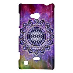 Flower Of Life Indian Ornaments Mandala Universe Nokia Lumia 720