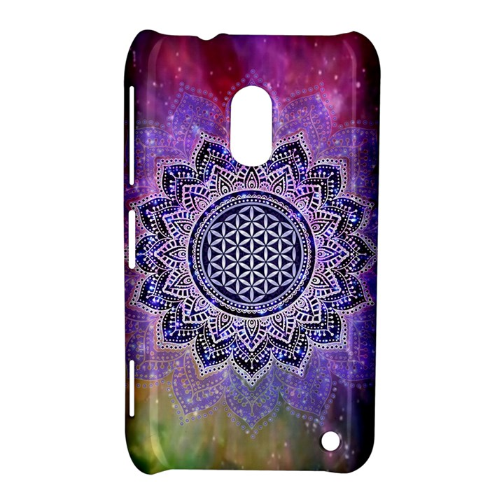 Flower Of Life Indian Ornaments Mandala Universe Nokia Lumia 620