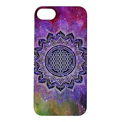 Flower Of Life Indian Ornaments Mandala Universe Apple Iphone 5s/ Se Hardshell Case