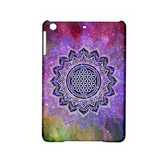 Flower Of Life Indian Ornaments Mandala Universe Ipad Mini 2 Hardshell Cases