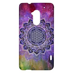 Flower Of Life Indian Ornaments Mandala Universe HTC One Max (T6) Hardshell Case