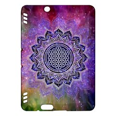 Flower Of Life Indian Ornaments Mandala Universe Kindle Fire Hdx Hardshell Case