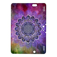 Flower Of Life Indian Ornaments Mandala Universe Kindle Fire Hdx 8 9  Hardshell Case