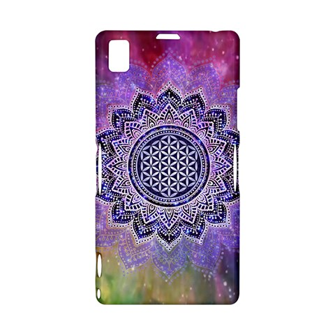 Flower Of Life Indian Ornaments Mandala Universe Sony Xperia Z1