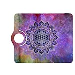 Flower Of Life Indian Ornaments Mandala Universe Kindle Fire HDX 8.9  Flip 360 Case Front