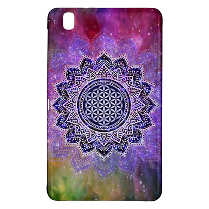 Flower Of Life Indian Ornaments Mandala Universe Samsung Galaxy Tab Pro 8.4 Hardshell Case
