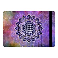 Flower Of Life Indian Ornaments Mandala Universe Samsung Galaxy Tab Pro 10.1  Flip Case