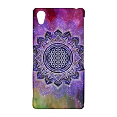 Flower Of Life Indian Ornaments Mandala Universe Sony Xperia Z2