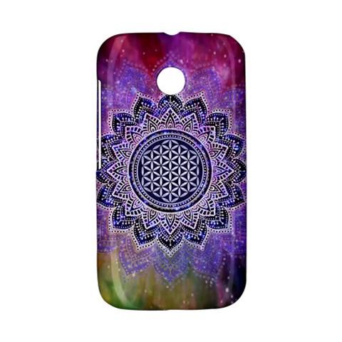 Flower Of Life Indian Ornaments Mandala Universe Motorola Moto E
