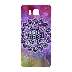 Flower Of Life Indian Ornaments Mandala Universe Samsung Galaxy Alpha Hardshell Back Case