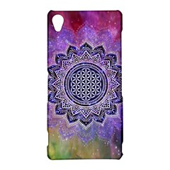 Flower Of Life Indian Ornaments Mandala Universe Sony Xperia Z3