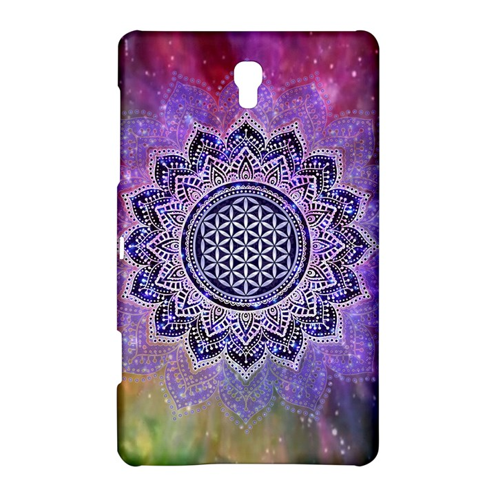 Flower Of Life Indian Ornaments Mandala Universe Samsung Galaxy Tab S (8.4 ) Hardshell Case