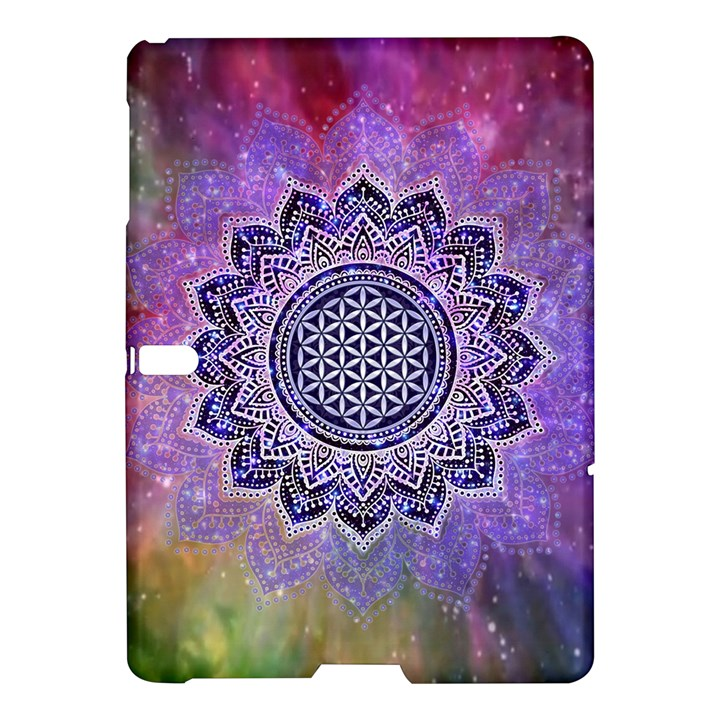 Flower Of Life Indian Ornaments Mandala Universe Samsung Galaxy Tab S (10.5 ) Hardshell Case