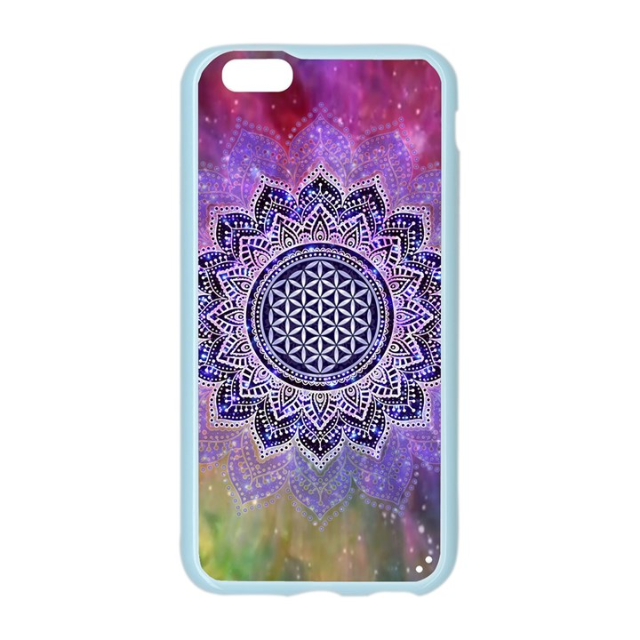 Flower Of Life Indian Ornaments Mandala Universe Apple Seamless iPhone 6/6S Case (Color)