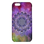 Flower Of Life Indian Ornaments Mandala Universe iPhone 6/6S TPU Case Front