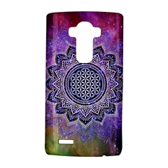 Flower Of Life Indian Ornaments Mandala Universe Lg G4 Hardshell Case