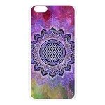 Flower Of Life Indian Ornaments Mandala Universe Apple Seamless iPhone 6 Plus/6S Plus Case (Transparent) Front