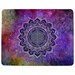 Flower Of Life Indian Ornaments Mandala Universe Jigsaw Puzzle Photo Stand (Rectangular) Front
