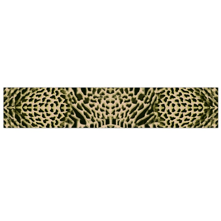 BROWN REPTILE Flano Scarf (Large)