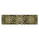 BROWN REPTILE Satin Scarf (Oblong) Front