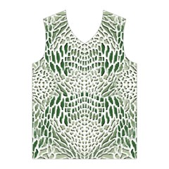 GREEN SNAKE TEXTURE Men s Basketball Tank Top