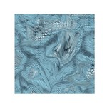 FROST DRAGON Small Satin Scarf (Square) Front