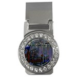 Christmas Boats In Harbor Money Clips (CZ)  Front