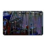 Christmas Boats In Harbor Magnet (Rectangular) Front