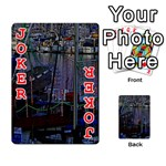 Christmas Boats In Harbor Playing Cards 54 Designs  Front - Joker2