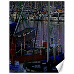 Christmas Boats In Harbor Canvas 18  x 24   24 x18 Canvas - 1