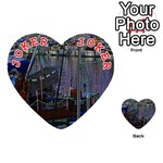 Christmas Boats In Harbor Playing Cards 54 (Heart)  Front - Joker2