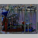 Christmas Boats In Harbor Canvas 16  x 12  16  x 12  x 0.875  Stretched Canvas