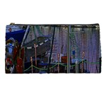 Christmas Boats In Harbor Pencil Cases Front