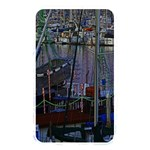 Christmas Boats In Harbor Memory Card Reader Front