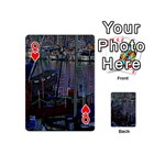 Christmas Boats In Harbor Playing Cards 54 (Mini)  Front - HeartQ